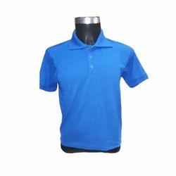 Cotton Collar Neck Mens Industrial T Shirt