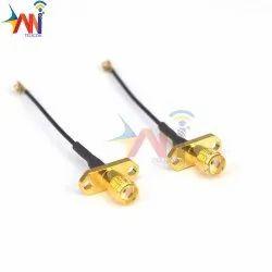 "RG316 Cable SMA Male Plug To SMA Female Jack 6/"" Straight Crimp Pigtail Cord FPV"