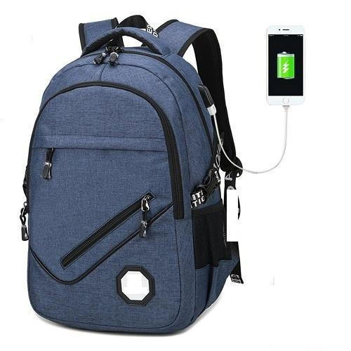 School Bag With Usb Charger