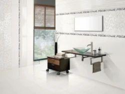 AGL Tiles Satin Bianco Ceramic Wall Tiles