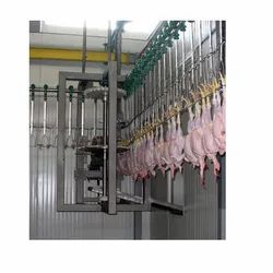 Automated Poultry Processing Conveyor