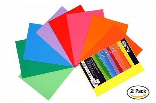 Brustro Colour Paper 80 Gsm A4 Assorted