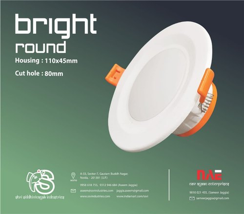 Bright Model 5 Watt led downlite housing