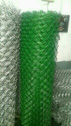 PVC Coated Chain Link Fence 65x65 3mm tiknash