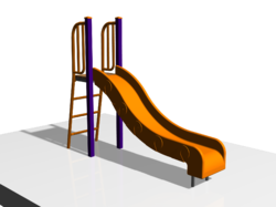 FRP Wave Slide