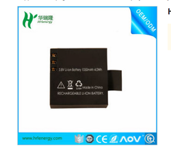 1050mah Polymer Li Ion Battery For Mini Camera