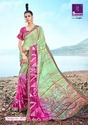 Pure Weightless Georgette Printed Saree