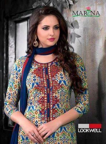 4309349d3c Cotton Printed Designer Dress, Rs 445 /piece, Womens Paradise | ID ...
