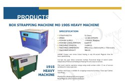 Closed Cabinet Box Strapping Machine