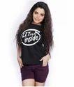 Iitians Inside Black Girls T Shirt