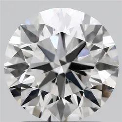 1.59ct Lab Grown Diamond CVD G VVS1 Round Brilliant Cut IGI Certified Stone