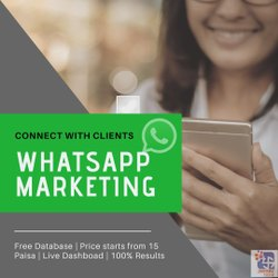 WhatsAPP Marketing, in Pan India, Business Industry Type: Political