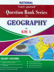 Question Bank Series in Geography for ICSE X