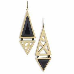 Ladies Modern Stone Earring