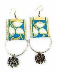 FE016 Handmade Fabric Earrings