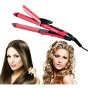 Essential 2 in 1 Pink Hair Straightener and Curler Hair Accessories