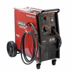 Lincoln Power Mig 216 Welding Machine