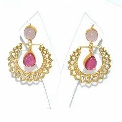 Antique Hanging Ladies Fancy Earring