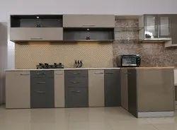 Modular Kitchen With Loft