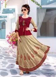 Anarkali Style Designer Kurtis
