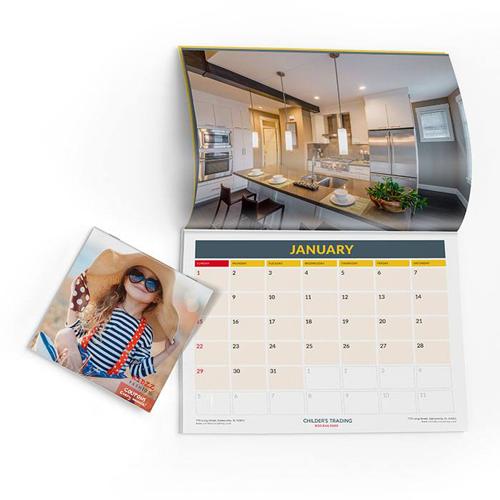 Art Paper New Year Designed Calendar Printing