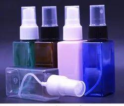 PET Square Bottle For sanitizer use