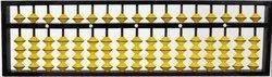 Teachers Abacus 17 Rods