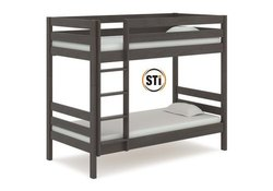 Wooden Maple Wood Single Bunk Beds, For Hostel, Home