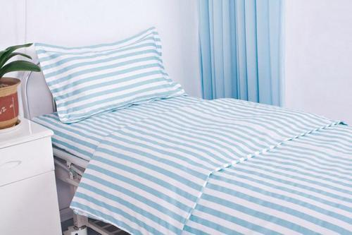 White Cotton Hospital Bed Sheets