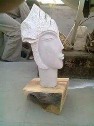 Handmade Marble Queen Sculpture