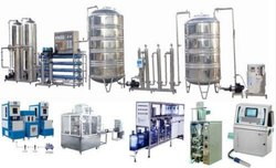 Turnkey Mineral  Water Bottling  Plant