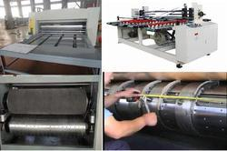 Auto Feed Printing Rotary Die Cutting Creaser Slotter Machine