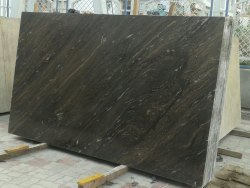 MICHIGAN INDIAN NATURAL BROWN SCORPOIN - MARBLE, Application Area: Countertops, Slab