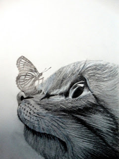 Life Is Like A Butterfly Pencil Drawing At Rs 8000 Piece Pencil
