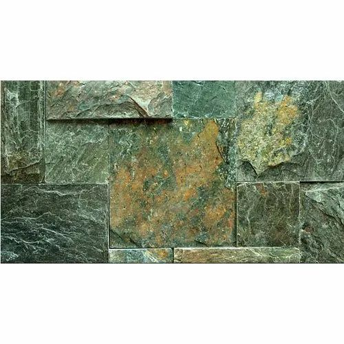 Ocean Green Slate Stone, Thickness: 5 to 10 mm