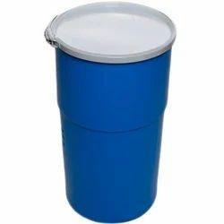 HDPE Blue Storage Drum, Capacity: 120 - 220 Liter
