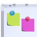 Double Sided Magnetic White Board - A1