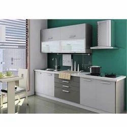 Modern Straight Modular Kitchen