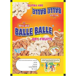 500 Gram Dry Fruits Packaging Laminated Pouch