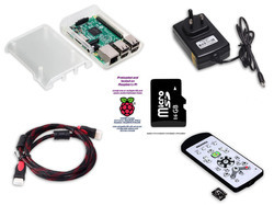 RASPBERRY PI 3B BASED MEDIA CENTER-SMART TV KIT FULLY ASSEMBLED