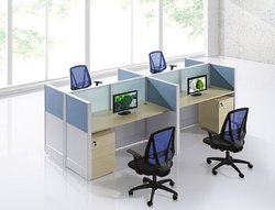 Cubical Office Workstation