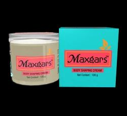 Maxgars Body Shaping Cream, for Personal, Box