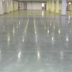 Concrete Flooring with Surface Hardeners
