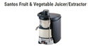 Centrifugal Juicer Extractor  50c  (Santos)