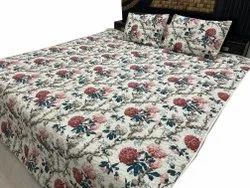 Beautiful Design Quilted Bed Cover With Two Pillow Cover Room Decor