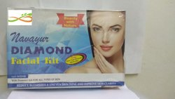 Infinity Minerals Herbal Diamond Facial Kit, For Face, Packaging Size: 500 Gm