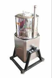 Semi Automatic Cutter Mixer Machine, Capacity: 0-50 kg/hr