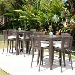 Wicker Outdoor Bar Furniture
