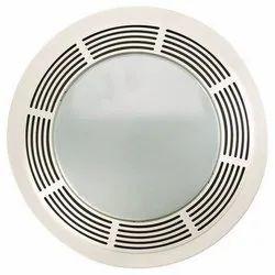4 Inch PVC Fan Plate, Size: 4