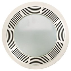 4 Inch PVC Fan Plate, Size: 4 Round